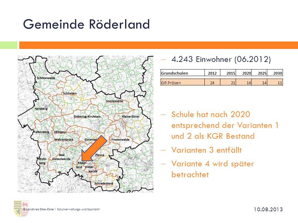 Gemeinde Röderland 4.243 Einwohner (06.2012)