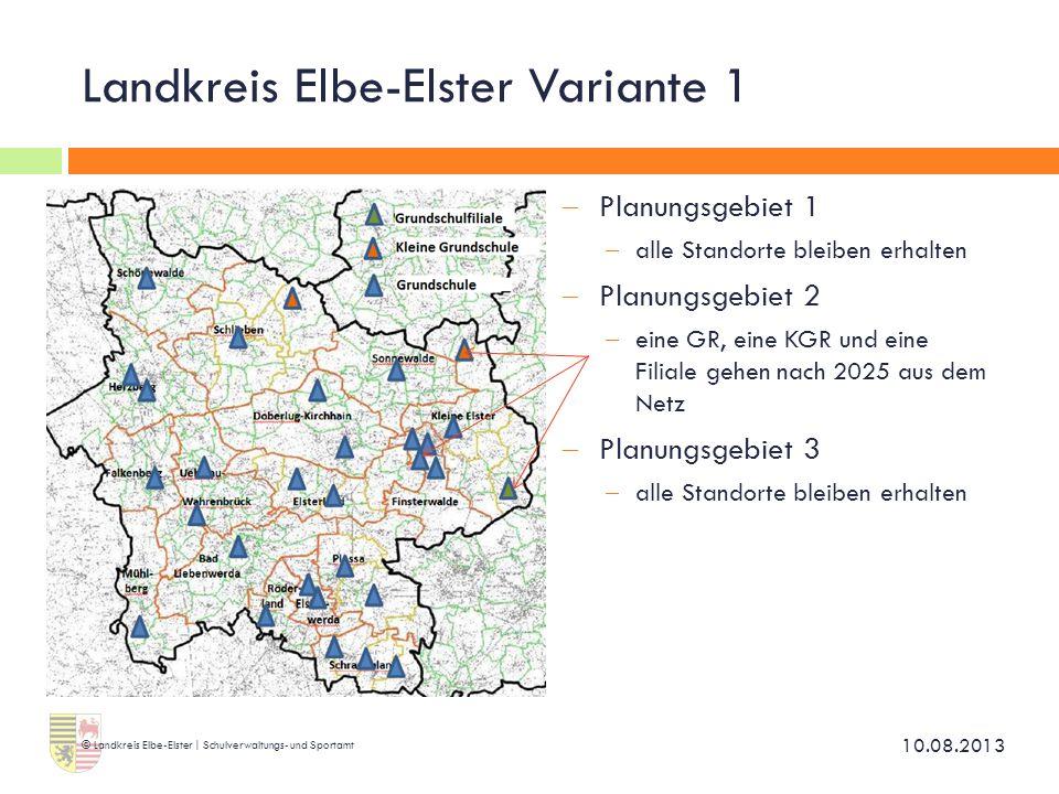 Landkreis Elbe-Elster Variante 1