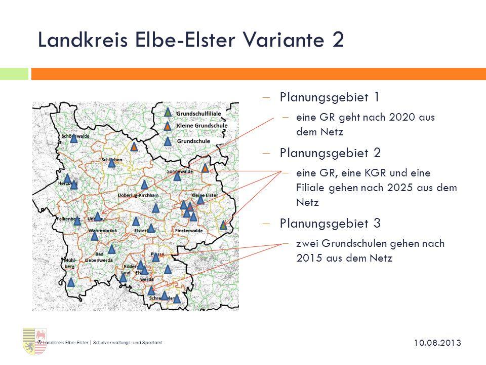 Landkreis Elbe-Elster Variante 2
