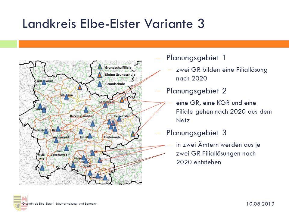 Landkreis Elbe-Elster Variante 3