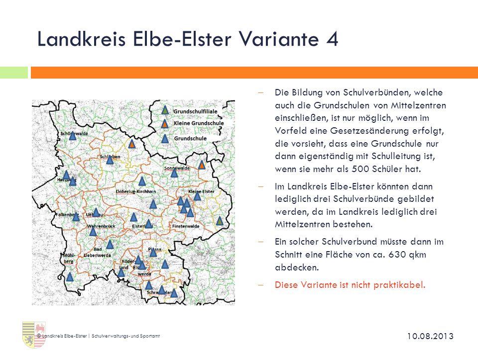 Landkreis Elbe-Elster Variante 4