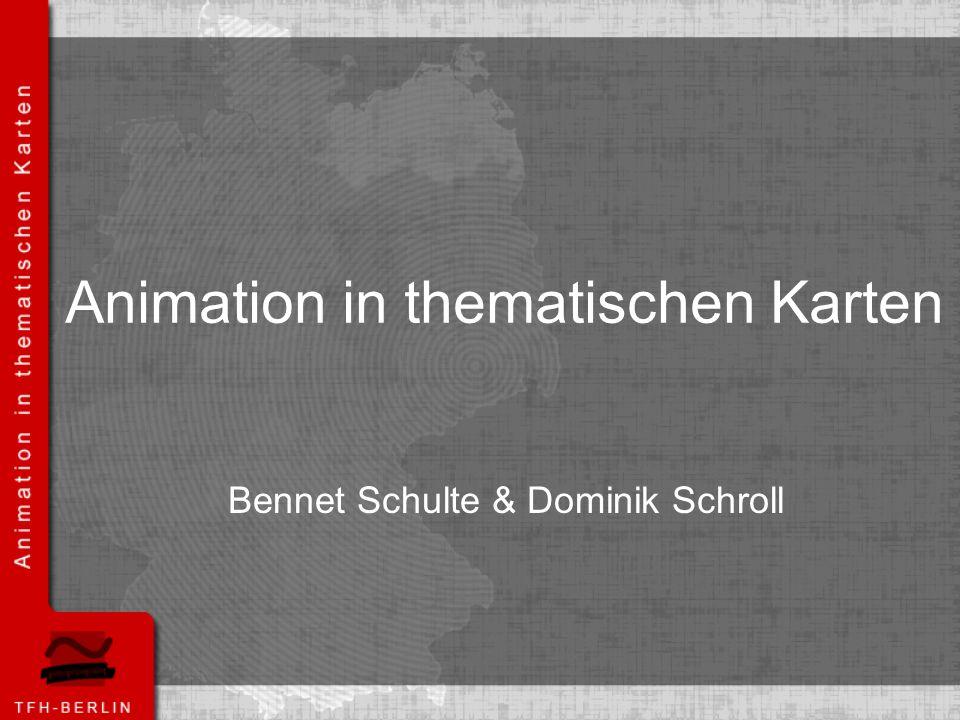 Animation in thematischen Karten