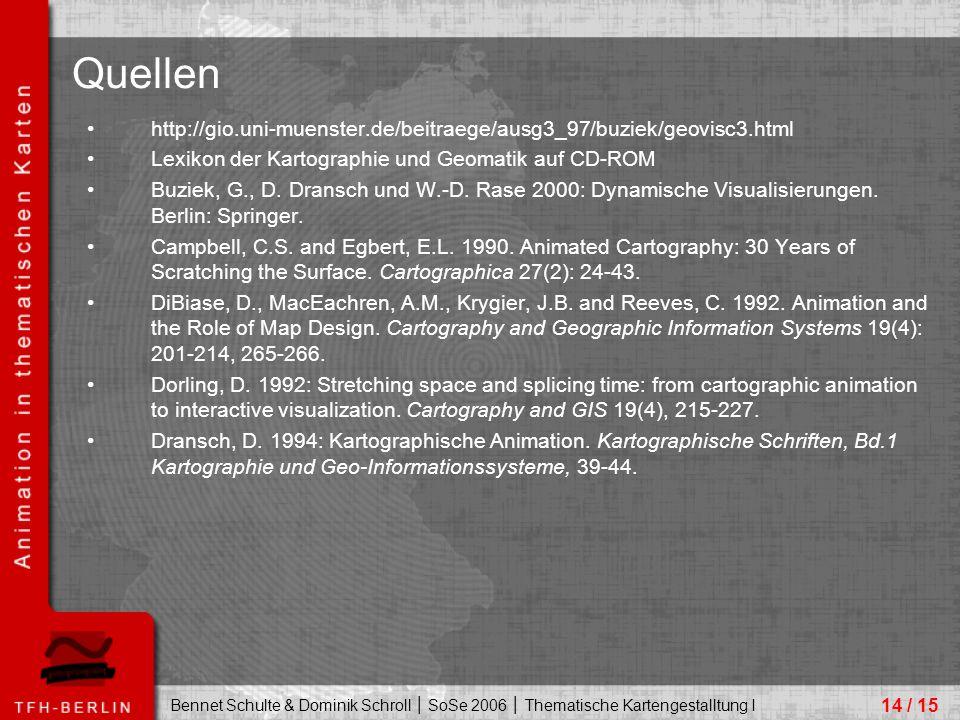 Quellen http://gio.uni-muenster.de/beitraege/ausg3_97/buziek/geovisc3.html. Lexikon der Kartographie und Geomatik auf CD-ROM.