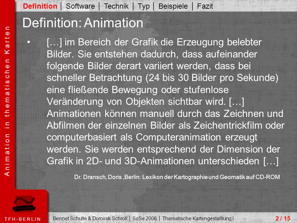 Definition: Animation