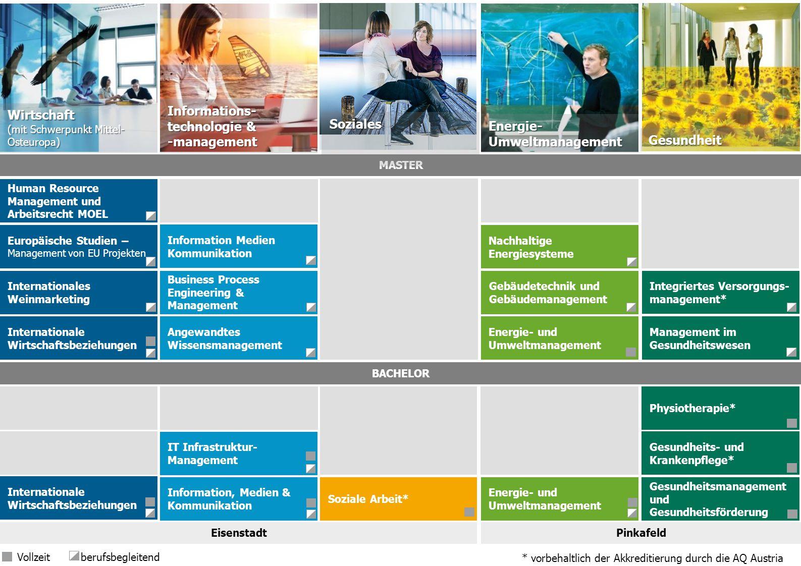 Informations- technologie & -management Wirtschaft Soziales Energie-