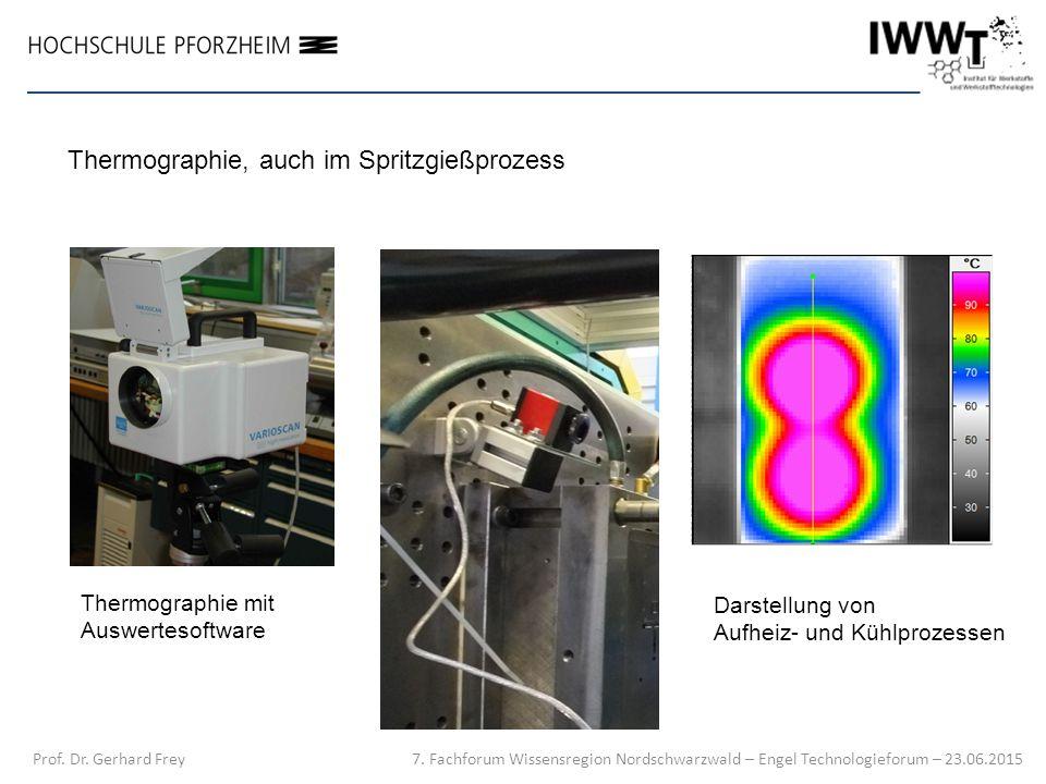 Thermographie, auch im Spritzgießprozess