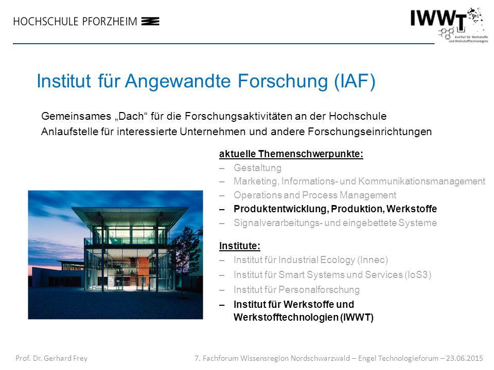 Institut für Angewandte Forschung (IAF)