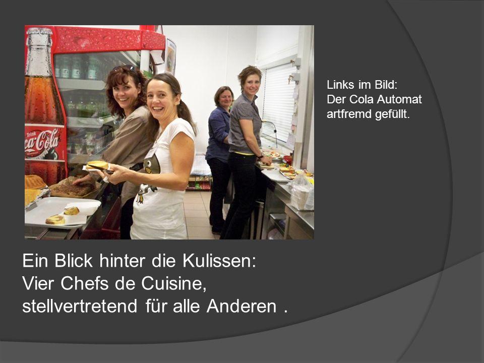 Ein Blick hinter die Kulissen: Vier Chefs de Cuisine,