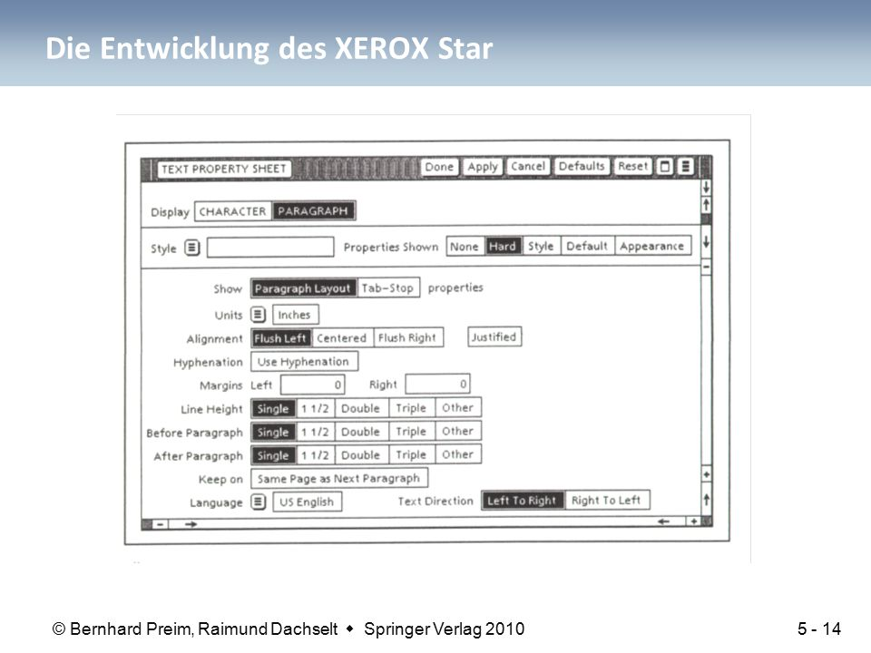 Die Entwicklung des XEROX Star