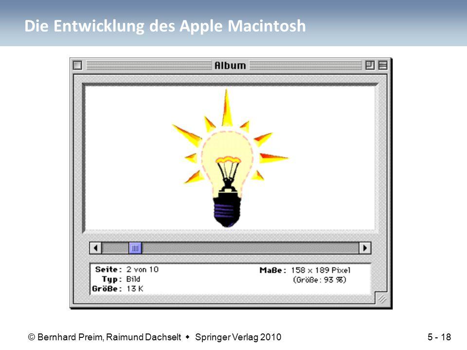 Die Entwicklung des Apple Macintosh