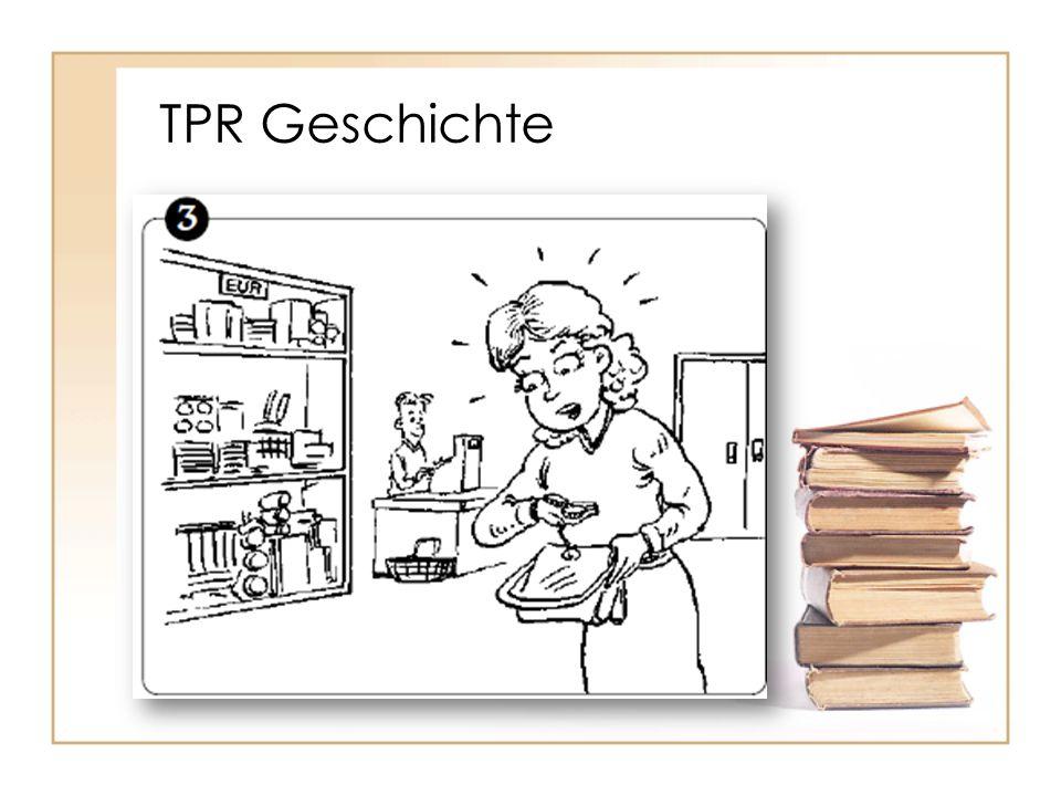 TPR Geschichte Ingrid hat aber nicht viel Geld, nur 4 Euro. Sie kauft nichts.