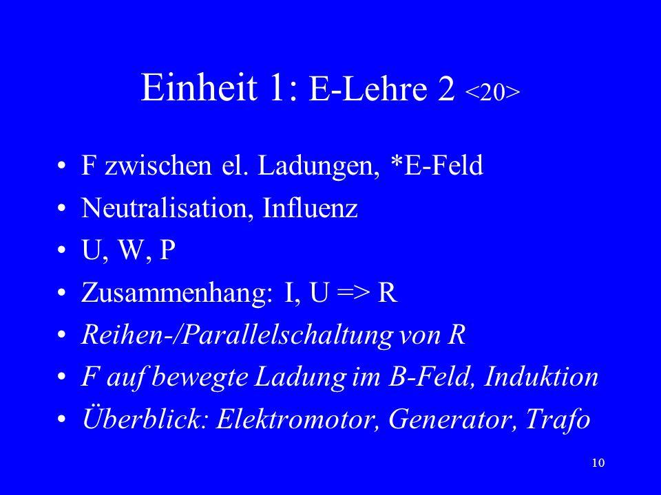 Einheit 1: E-Lehre 2 <20>