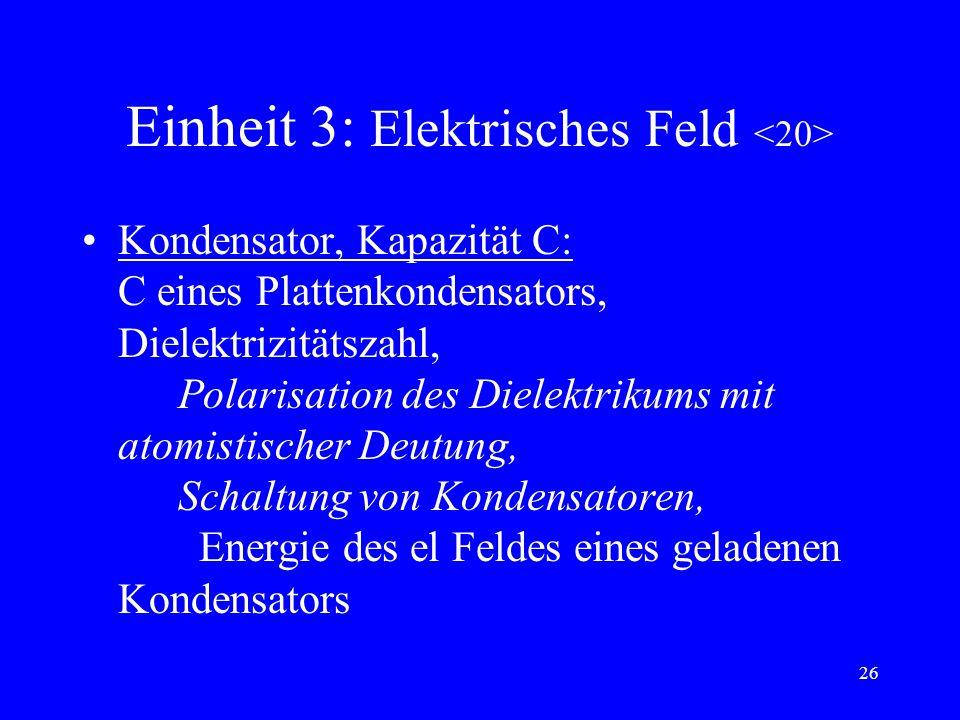 Einheit 3: Elektrisches Feld <20>