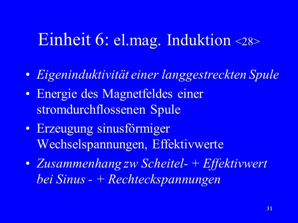 Einheit 6: el.mag. Induktion <28>