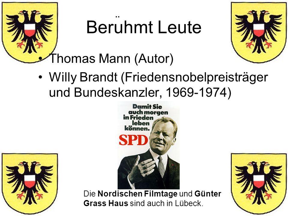 Beruhmt Leute Thomas Mann (Autor)
