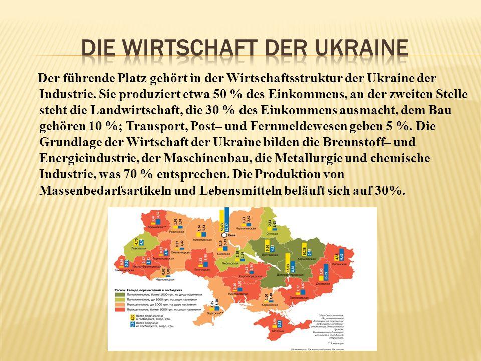 Die Wirtschaft der Ukraine