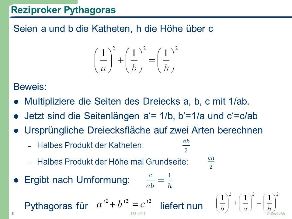 Reziproker Pythagoras