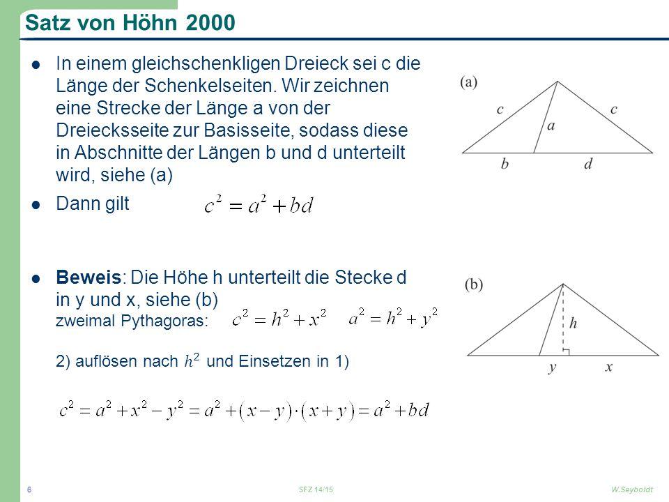 Satz von Höhn 2000
