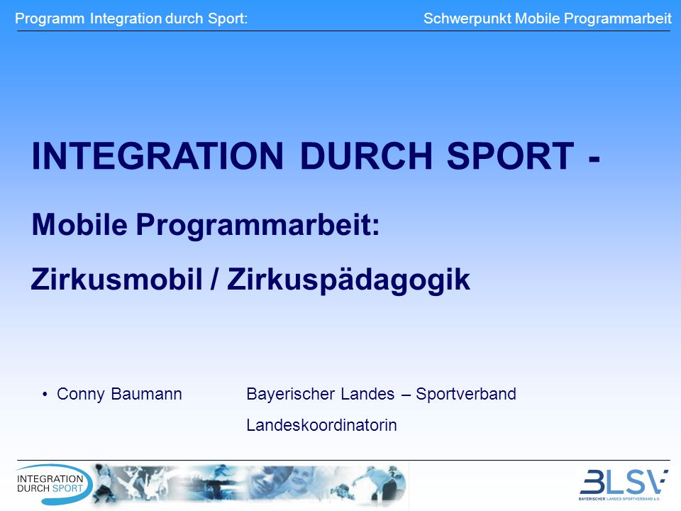 INTEGRATION DURCH SPORT -