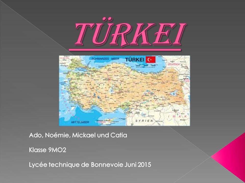 Türkei Ado, Noémie, Mickael und Catia Klasse 9MO2