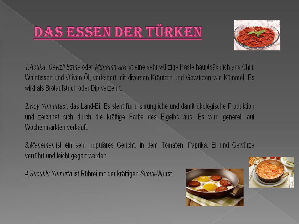 Das Essen der Türken
