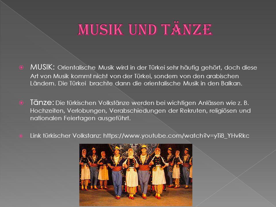 Musik und Tänze