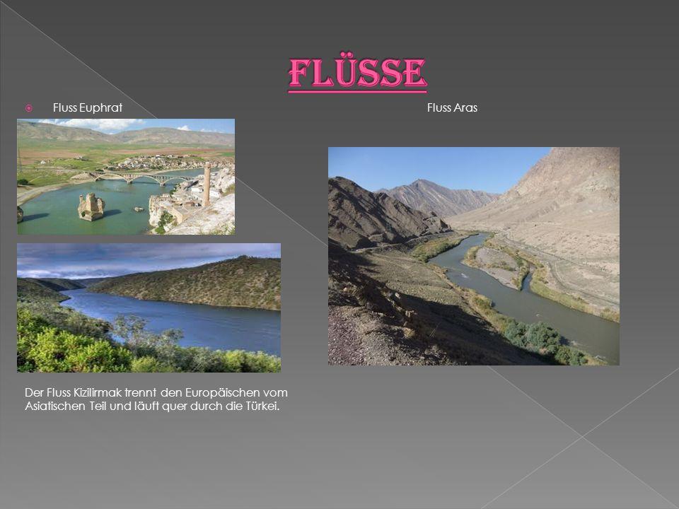 Flüsse Fluss Euphrat Fluss Aras