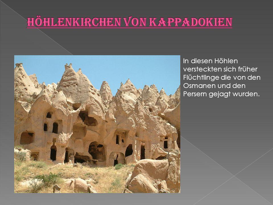 Höhlenkirchen von Kappadokien