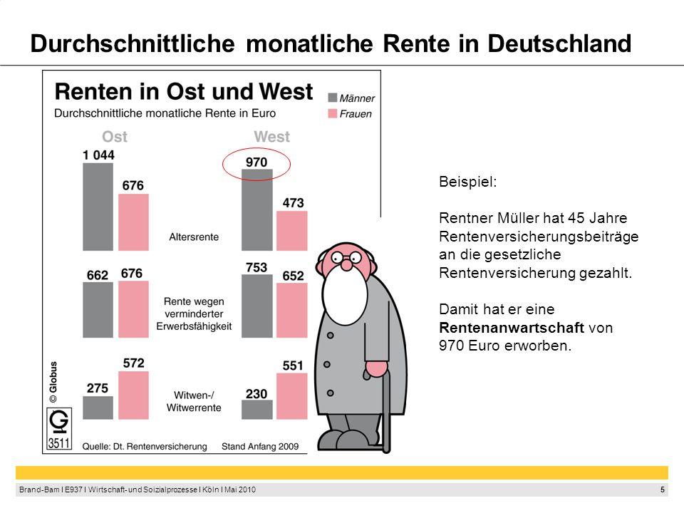 Rentenanwartschaft Wer zahlt die Rente von Herrn Müller
