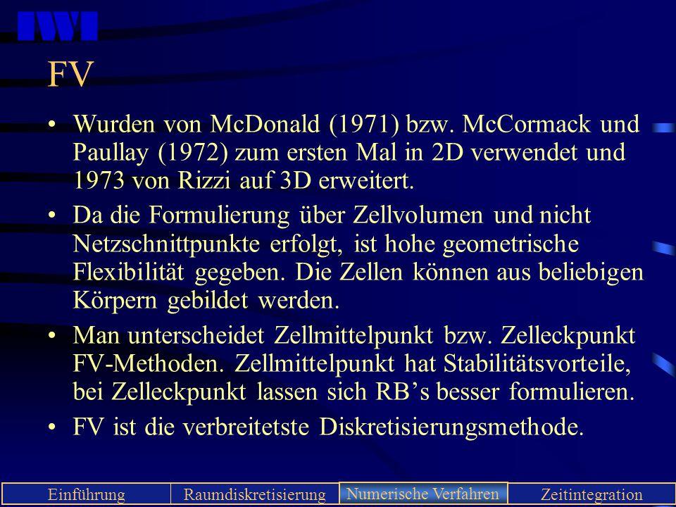 FV Wurden von McDonald (1971) bzw. McCormack und Paullay (1972) zum ersten Mal in 2D verwendet und 1973 von Rizzi auf 3D erweitert.