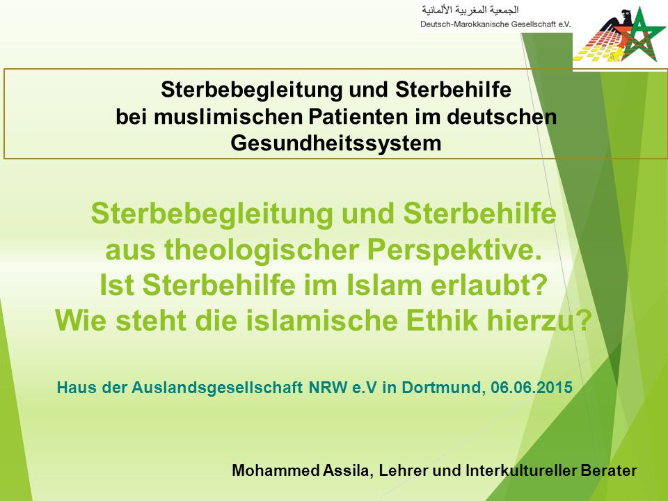 Mohammed Assila, Lehrer und Interkultureller Berater
