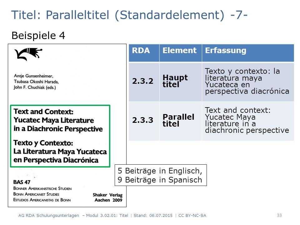 Titel: Paralleltitel (Standardelement) -7-