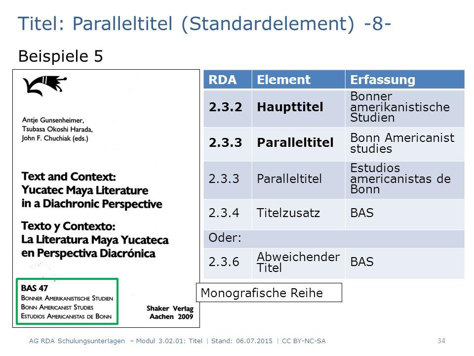 Titel: Paralleltitel (Standardelement) -8-