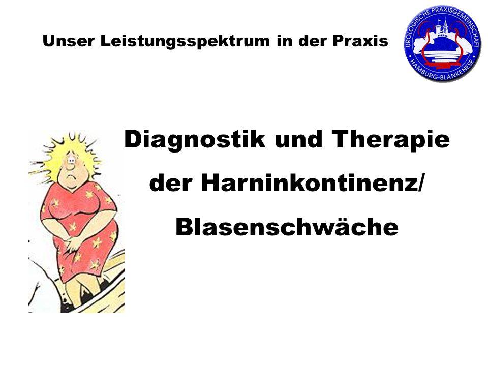 Diagnostik und Therapie der Harninkontinenz/ Blasenschwäche