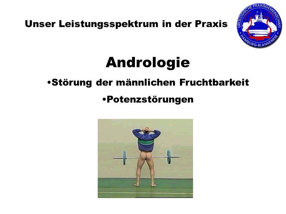 Andrologie Unser Leistungsspektrum in der Praxis