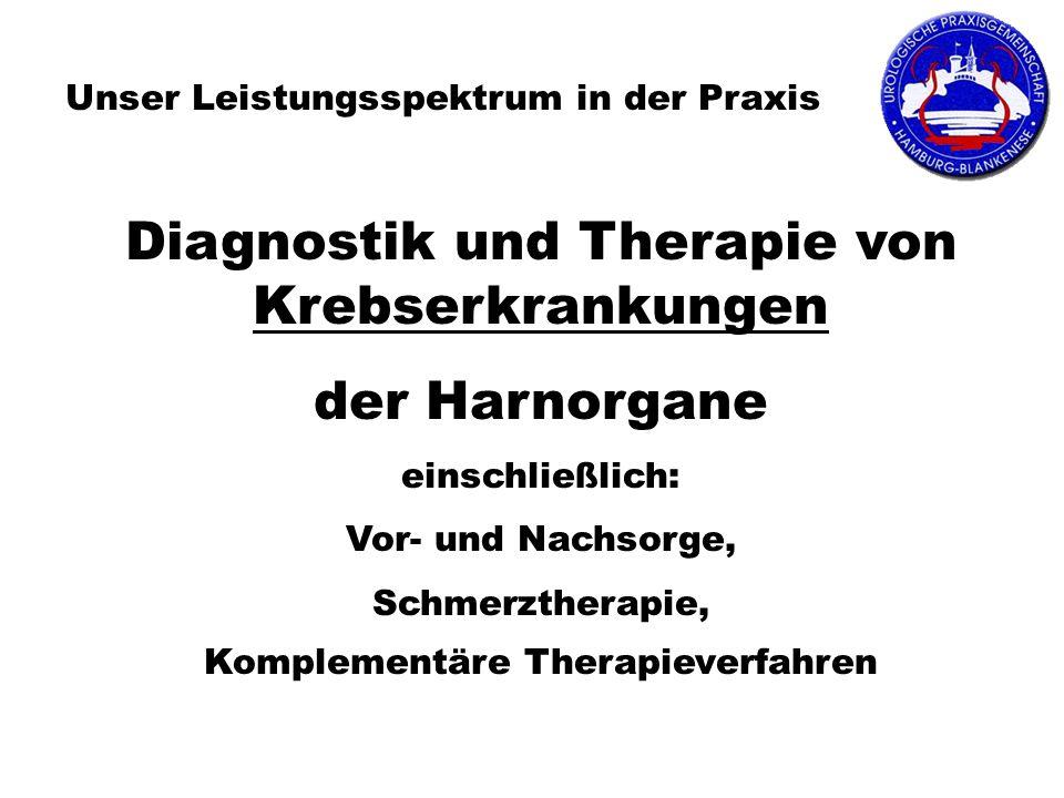 Diagnostik und Therapie von Krebserkrankungen der Harnorgane