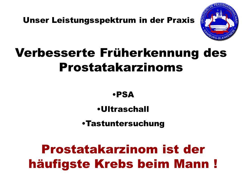 Verbesserte Früherkennung des Prostatakarzinoms