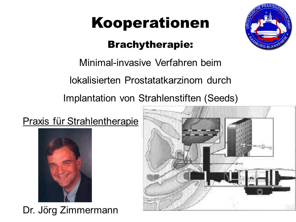 Kooperationen Brachytherapie: Minimal-invasive Verfahren beim
