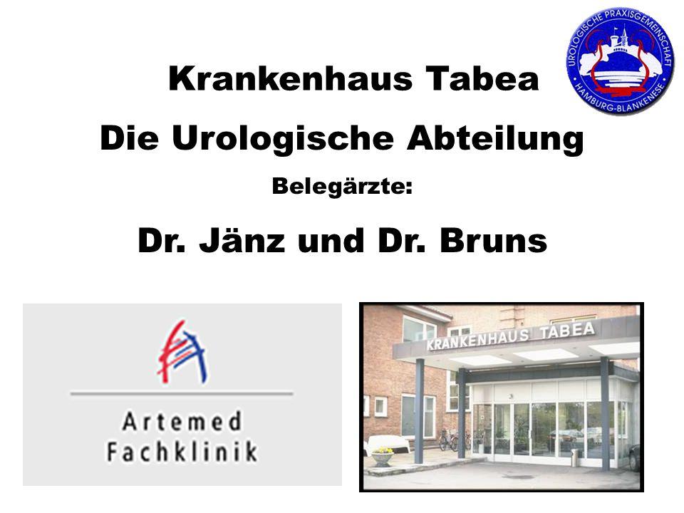 Die Urologische Abteilung