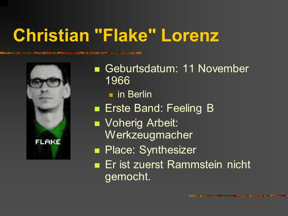 Christian Flake Lorenz