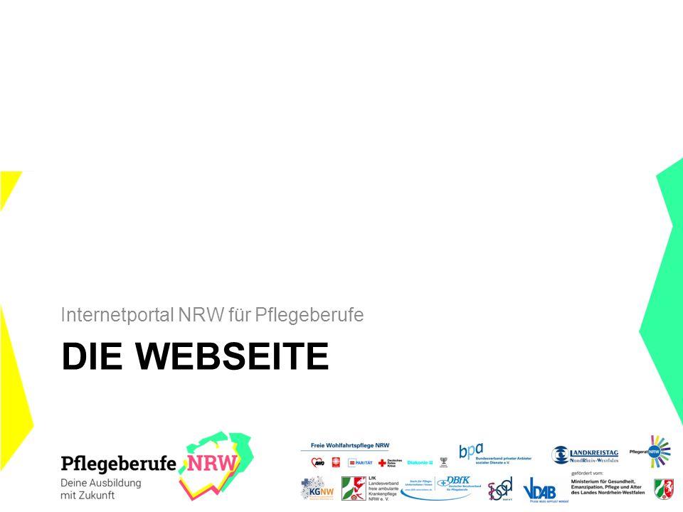 Internetportal NRW für Pflegeberufe