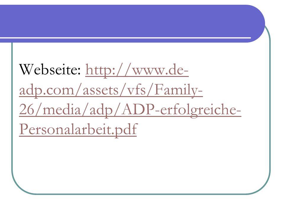 Webseite: http://www. de-adp
