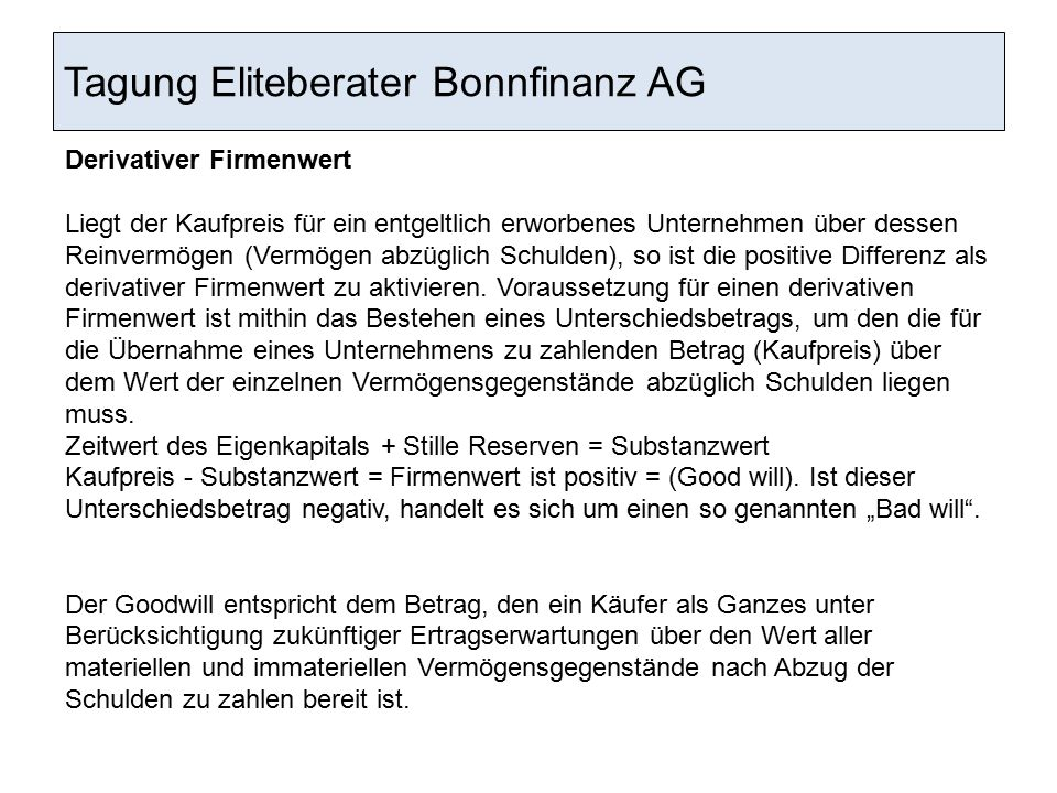 Tagung Eliteberater Bonnfinanz AG