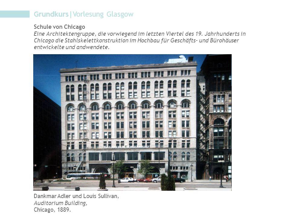 Grundkurs|Vorlesung Glasgow
