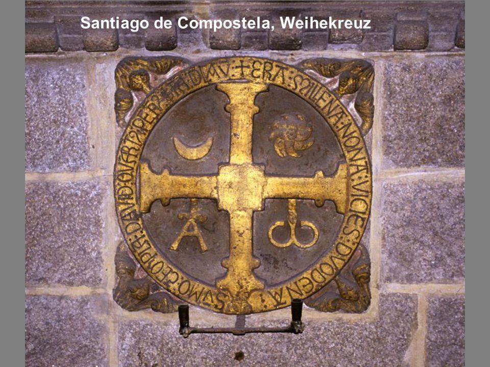 Santiago de Compostela, Weihekreuz