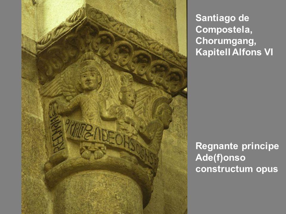 Santiago de Compostela, Chorumgang, Kapitell Alfons VI