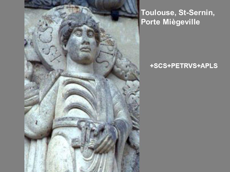 Toulouse, St-Sernin, Porte Miègeville
