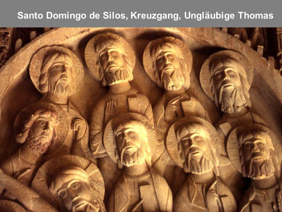 Santo Domingo de Silos, Kreuzgang, Ungläubige Thomas