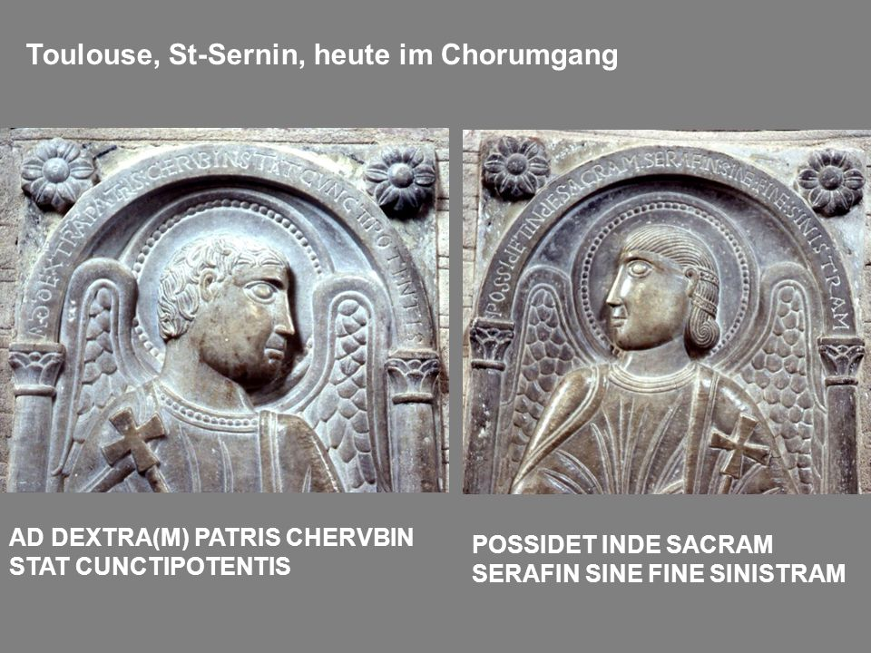 Toulouse, St-Sernin, heute im Chorumgang