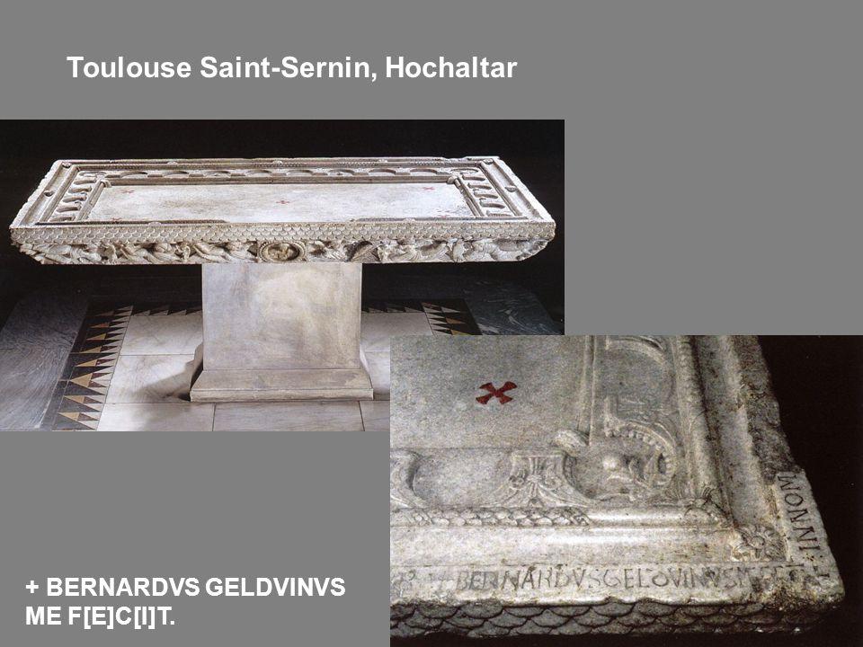 Toulouse Saint-Sernin, Hochaltar